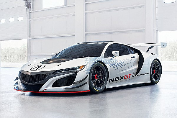 PWC Acura NSX GT3 to make PWC test debut tomorrow