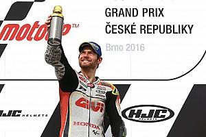 MotoGP Race report Brno MotoGP: Crutchlow scores stunning maiden win