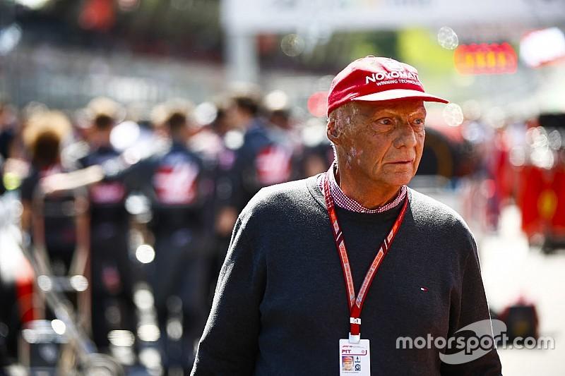 La Fórmula 1, pendiente de Niki Lauda