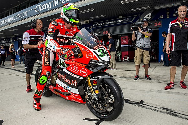 WSBK Actualités Fin de parcours pour Giugliano avec Ducati