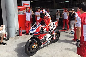 MotoGP Breaking news Stoner makes return Ducati MotoGP test outing