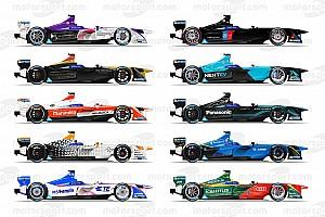 Formula E Özel Haber 2016/2017 Formula E sezonunda yarışacak araçlar