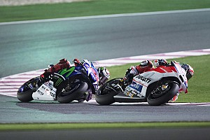 MotoGP Race report Ducati's Dovizioso puts in a great race to take the runner-up slot in GP of Qatar