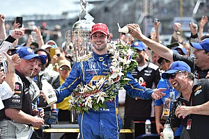 IndyCar Race report Rookie Alexander Rossi wins 100th running of Indy 500