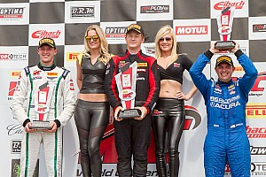 PWC Race report Long scores first win for his new team