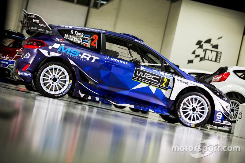 Ott Tänak, Martin Järveoja, M-Sport, Ford Fiesta WRC 2017