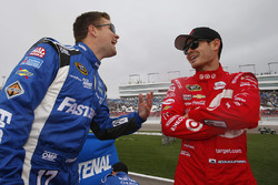 Ricky Stenhouse Jr., Roush Fenway Racing Ford, Kyle Larson, Chip Ganassi Racing Chevrolet