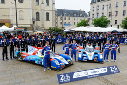#37 SMP Racing BR01 Nissan: Vitaly Petrov, Viktor Shaytar, Kirill Ladygin, #27 SMP Racing BR01 Nissan: Nicolas Minassian, Maurizio Mediani, Mikhail Aleshin