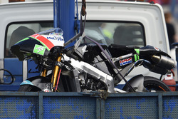 Adam Norrodin, Drive M7 SIC Racing Team crash bike