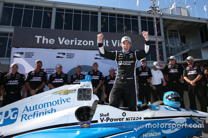 Simon Pagenaud, Team Penske Chevrolet pole winner