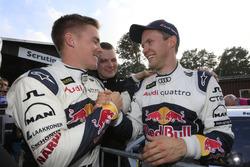 Toomas Heikkinen, EKS RX and Mattias Ekström, EKS RX