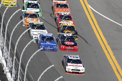 Race action: Joey Logano, Team Penske Ford leads