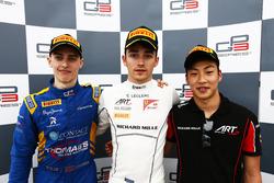 Race One Press Conference, Jake Hughes, DAMS and, Charles Leclerc, ART Grand Prix and Nirei Fukuzumi, ART Grand Prix