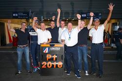 LMP3 class champions United Autosports group photo