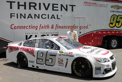 Michael McDowell, Circle Sport Leavine Family Racing special throwback scheme