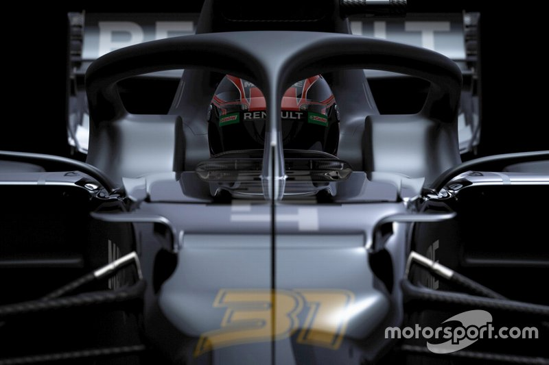 Renault tease 2020 F1 vehicle  at season kick-off in Paris