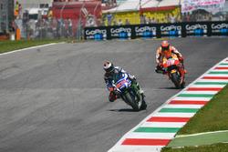 Jorge Lorenzo, Yamaha Factory Racing and Marc Marquez, Repsol Honda Team