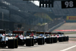 2015中国大奖赛发车