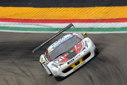 #71 AF Corse Ferrari F458 Italia GT3: Felipe Barreiros, Mads Rasmussen