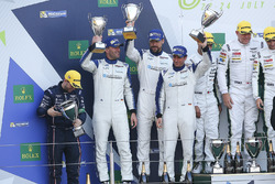 LM GTE Am: second place Christian Ried, Wolf Henzler, Joël Camathias, KCMG