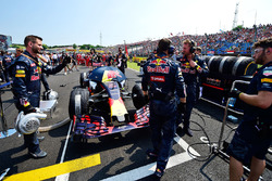 Red Bull Racing on the grid