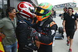 Winner Pedro Piquet and third place Jehan Daruvala
