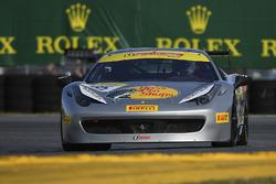 #85 Ferrari of Fort Lauderdale Ferrari 458: Steve Johnson