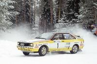 WRC Photos - Stig Blomqvist, Bjorn Cederberg, Audi Quattro A2