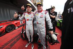 Race winners #33 Belgian Audi Club Team WRT Audi R8 LMS: Enzo Ide, Robin Frijns