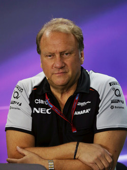 Robert Fernley, Sahara Force India F1 Team Deputy Team Principal in the FIA Press Conference
