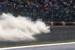 Nigel Mansell, Williams spins