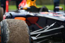Red Bull Racing tyre details