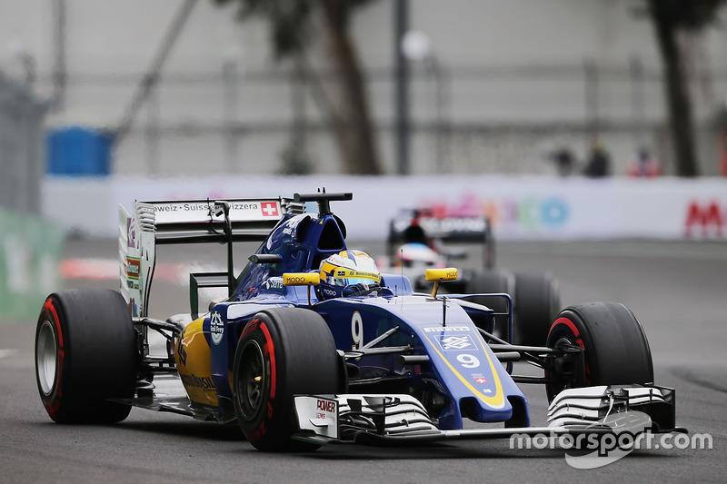 15: Marcus Ericsson, Sauber C35