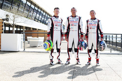 Toyota Racing: Mike Conway, Stephane Sarrazin and Kamui Kobayashi