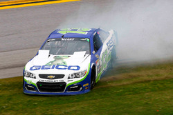 Casey Mears, Germain Racing Chevrolet crash