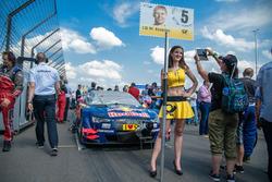 Mattias Ekström, Audi Sport Team Abt Sportsline, Audi A5 DTM, Grid girl