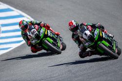 Jonathan Rea, Kawasaki Racing Team, Tom Sykes, Kawasaki Racing Team