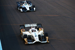 Josef Newgarden, Ed Carpenter Racing Chevrolet, Max Chilton, Chip Ganassi Racing Chevrolet