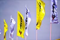Indian Open Wheel Photos - JK tyres flags