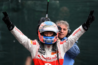 Formula 1 Photos - Race winner Jenson Button, McLaren Mercedes