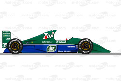 com quot; title=quot;La Benetton B191 pilotée par Michael Schumacher en