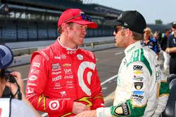 Scott Dixon, Chip Ganassi Racing Chevrolet, Ed Carpenter, Ed Carpenter Racing Chevrolet