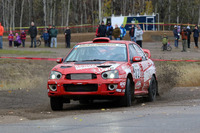 Canadian rally Photos - Marc Bourassa, Daniel Paquette, Subaru Impreza