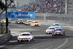 Christian Vietoris, Mercedes-AMG Team Mücke, Mercedes-AMG C63 DTM and Mattias Ekström, Audi Sport Team Abt Sportsline, Audi A5 DTM