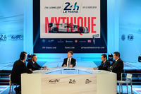 Le Mans Photos - The press conference atmosphere