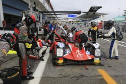 Pit stop #46 Thiriet by TDS Racing Oreca 05 - Nissan: Pierre Thiriet, Mathias Beche, Ryo Hirakama