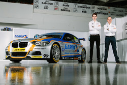 Rob Collard and Sam Tordoff, Team JCT600 with GardX BMW 125i Msport