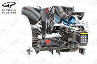 Formula 1 Photos - McLaren MP4/31 diffuser, United States GP
