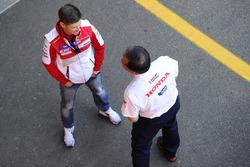 Casey Stoner, Ducati Team, Shuhei Nakamoto, vice-president of Honda Racing Corporation