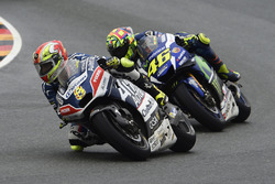Hector Barbera, Avintia Racing and Valentino Rossi, Yamaha Factory Racing